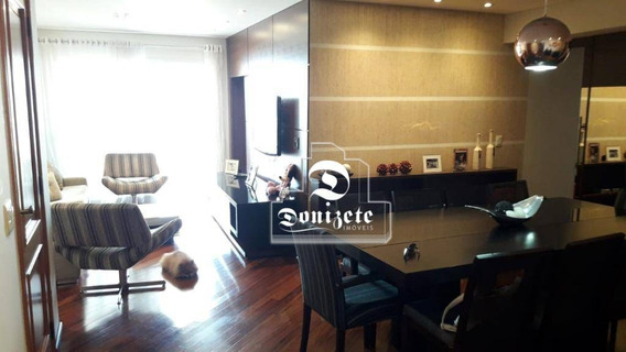 Apartamento Com 3 Dormitórios À Venda, 140 M² Por R$ 863.500,00 - Campestre - Santo André/sp - Ap11751