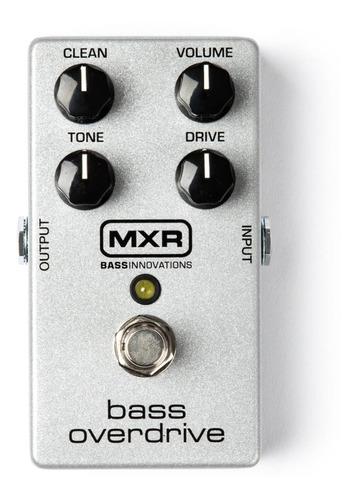 Pedal  Mxr M89 Bass Overdrive Análogo C/ Nfe & Garantia