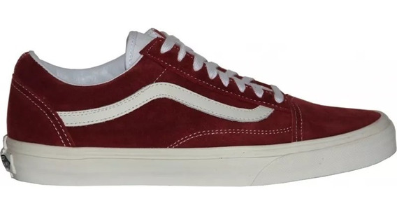 Tênis Vans Classic Old Skool Vintage Rio Red 5997 Original