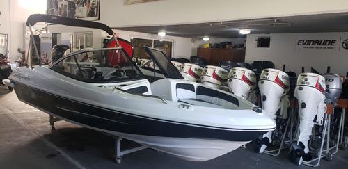 Lancha Open 3v Tango 470 Evinrude 60 Hp Eco5 Nautica Milione