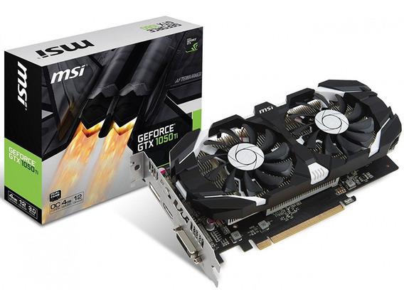 Placa De Vídeo Geforce Gtx 1050ti 4gb Gddr5 Oc + Brinde + Nf
