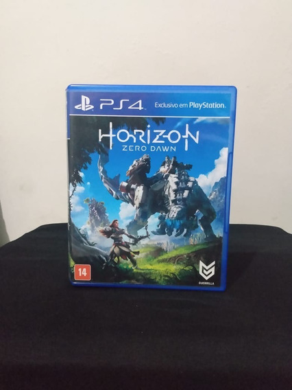 Horizon Zero Dawn Ps4 - Semi Novo! M. Física!