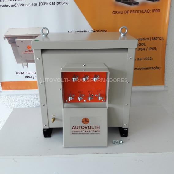 Locação - Autotransformador 20kva 380v/220v+n (reversivel)