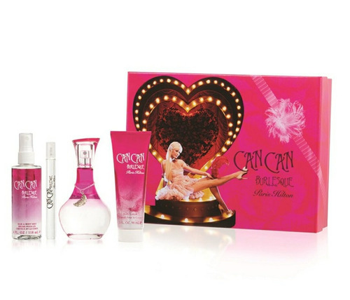 Estuche Can Can Paris Hilton Perfume+sp - mL a $588