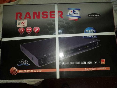 Reproductor De Dvd Ranser Dv-ra44