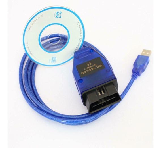 Scanner Vag Com Kkl 409.1 Usb Obd2 Fiat Ecuscan Vw Audi Polo Golf Jetta A3 Seat Apaga Luz Painel Correção 409.1