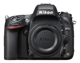 Nikon D610 Cuerpo Cámara Nuevo En Caja Con Garantía Y Boleta