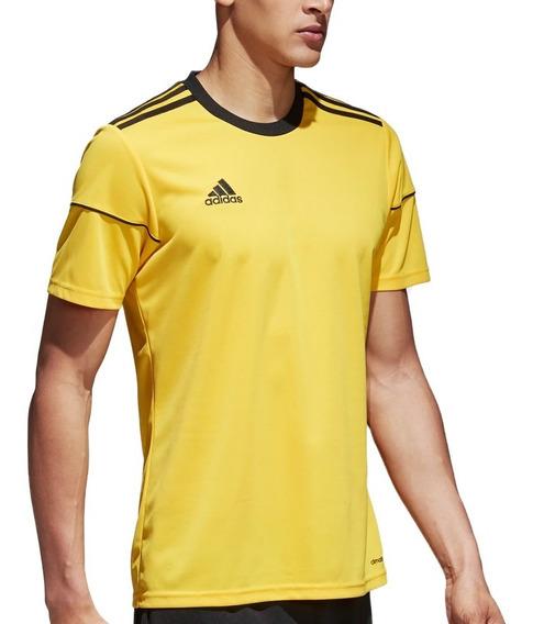 Playera Jersey Futbol Soccer Squadra 17 Hombre adidas Bj9180