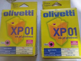 Cartucho Olivetti Negro Original Xp 01