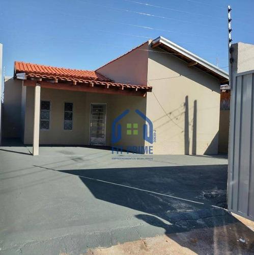 Casa Com 2 Dormitórios À Venda, 60 M² Por R$ 135.000,00 - Parque Da Cidadania - São José Do Rio Preto/sp - Ca2385
