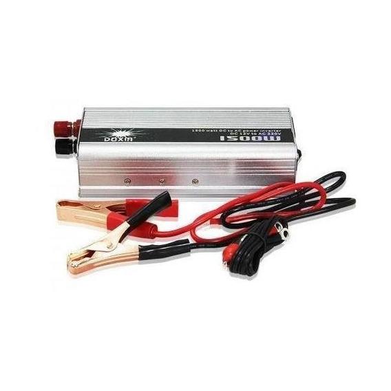 Convertidor Inversor 12v 220v 1500w Heladeras Panel Solar Tv