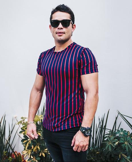 Playera Caballero Hoja Colombiana Mod 1