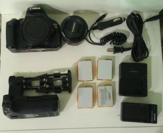Camara Canon T3i Mas Accesorios