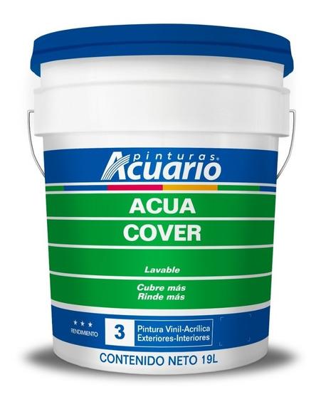 Pintura Vinílica Acua Cover Acuario, Cubeta 19 Litros
