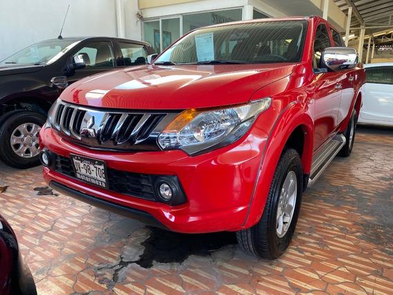 Mitsubishi L200 2018 2.4 Tela 4x2 Mt Rojo