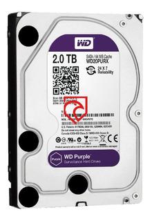 Disco Rigido 2tb Purple Western Digital Seguridad Martinez