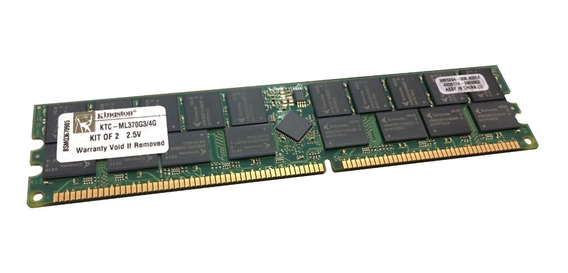 Memoria Ecc Pc2100r Dell Poweredge 1750 2600 2650 3250 4600