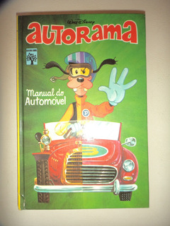 Walt Disney Manual Do Automovel Autorama 1976 Excelente