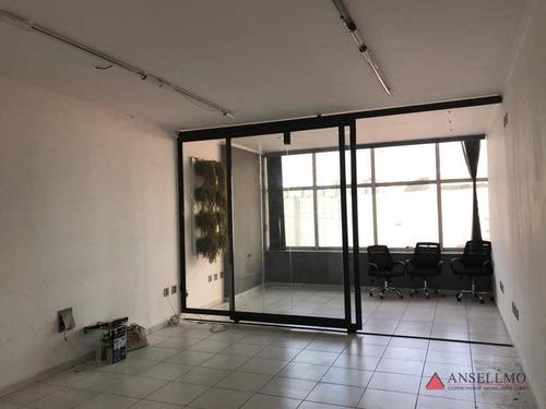 Imagem 1 de 10 de Sala Para Alugar, 60 M² Por R$ 1.400,00/mês - Jardim Do Mar - São Bernardo Do Campo/sp - Sa0527