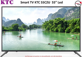 Smart Tv Ktc 55c2u 55 Led 4k Ultra Hd Wifi 32gb 8gb Ram