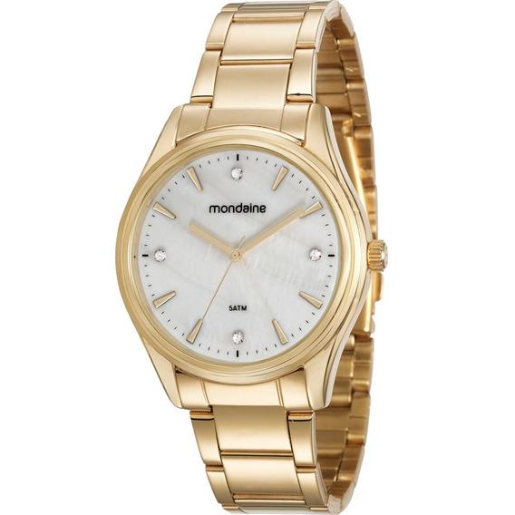 Relógio Feminino Mondaine Dourado 53568lpmvde2