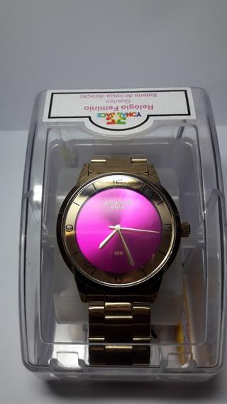 Relógio Atlantes Gold Feminino