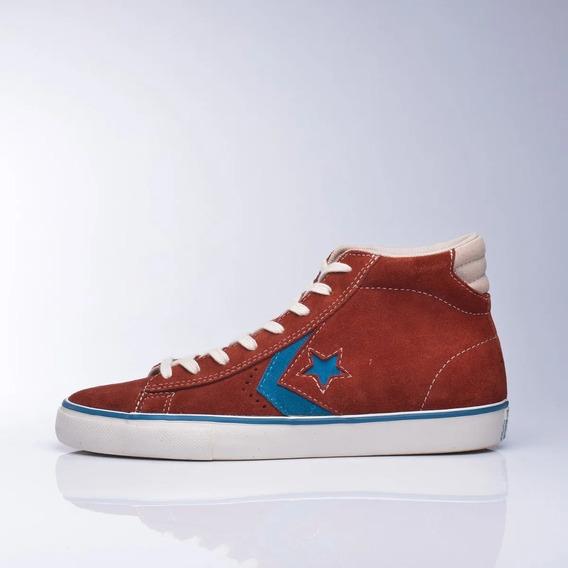 Zapatillas Converse Pro Leather Vulc Bordo - Envio Gratis-