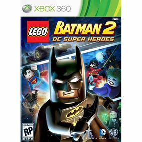 Lego Batman 2: Dc Super Heroes Xbox 360 Original Midia Fisic