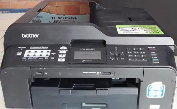 Impressora Brother Mfc 6510dw - S/ Cabeça, Cartuchos, Carca
