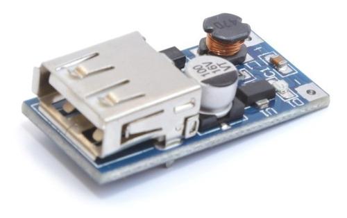 Regulador De Tensão 1.5 A 5v Usb 600ma / Auto Boost Step Up