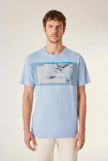 Camiseta Estampada Acesso Pessoal Vj Reserva
