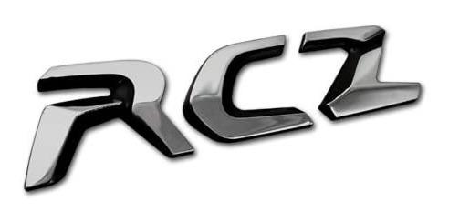 Monograma Rcz Peugeot Novo Original