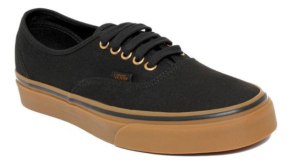 Zapatillas Vans Mod Authentic Negro Marron Nueva Coleccion