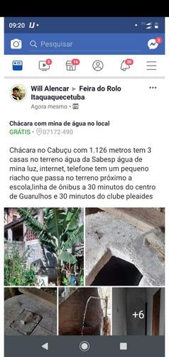 Chácara No Cabuçu Com Mina De Água