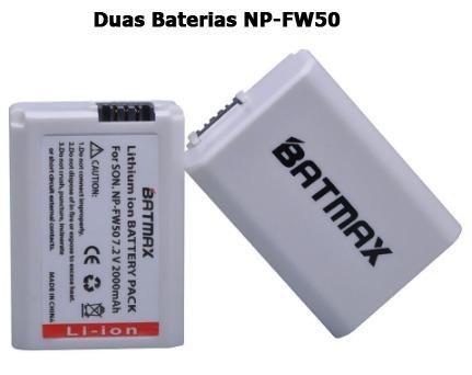 Kit 2 Baterias Np-fw50