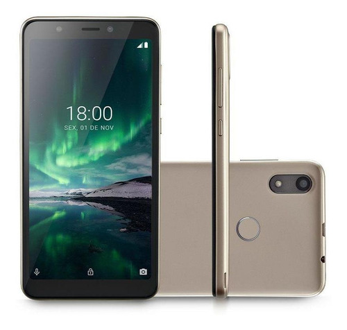 Smartphone Multilaser F Pro 4g 16gb Android 9 Dourado P9119