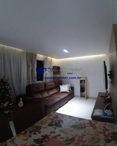 Imagem 1 de 10 de Apto 65 M² À Venda - Cond. Fatto Passion- Vila Augusta - Apartamento A Venda No Bairro Vila Augusta - Guarulhos, Sp - Sc00961
