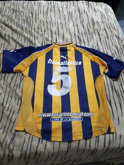 Camiseta Puma Rosario Central, De Juego, Apertura 2002