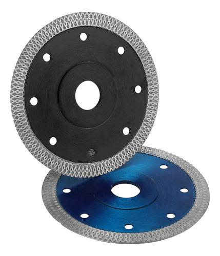 Cuarcita Cer/ámica azul, 115mm Disco de Corte de Diamante Hoja de Diamante en Seco para Gres Porcel/ánico M/ármol Granito