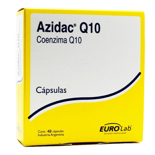 Eurolab Sup. Dietario Azidac Q10 Con Coenzima Q10 X 48 Caps.