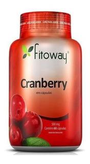 Cranberry 500mg 60 Cápsulas - Fitoway