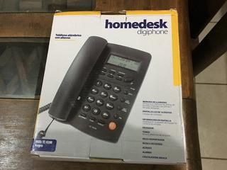 Teléfono Para Casa Color Negro Modelo Tc9200