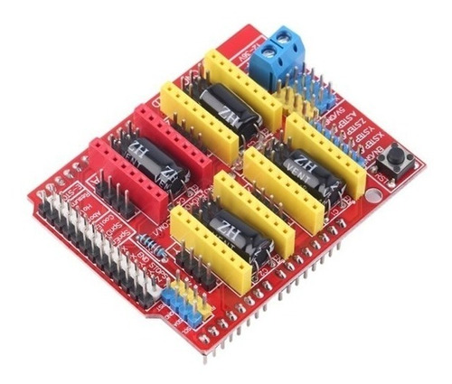 Imagen 1 de 7 de Shield Cnc V3 Mother Para Arduino Uno Usb Drivers Reprap