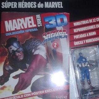 Figura Marvel 3d - Capitan America
