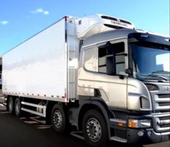 Scania P 310 Bitruck + Bau Refrigerado Ano 2016