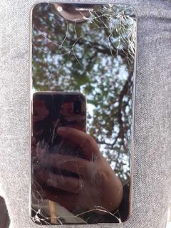 Celular Zenfone Max Pro M1, Valor Negociável, Tela Quebrada