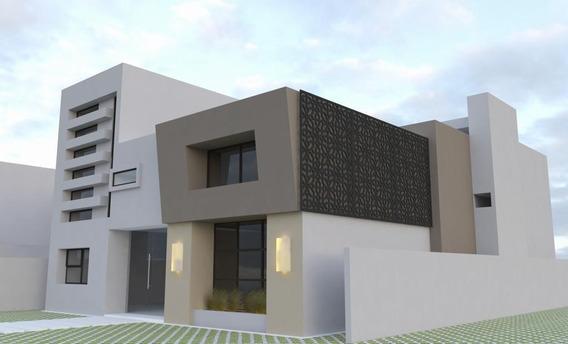 Pre-venta De Amplia Residencia Estilo Minimalista En Condado De Sayavedra.