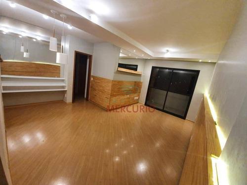 Imagem 1 de 18 de Apartamento Com 3 Dormitórios À Venda, 90 M² Por R$ 390.000,00 - Vila Nova Cidade Universitária - Bauru/sp - Ap3735