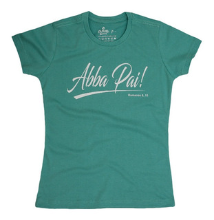 Camisa Cristã Baby Look Abba Pai 55009