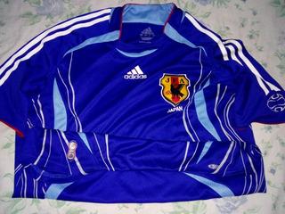 Camisa Japao Azul adidas 2006